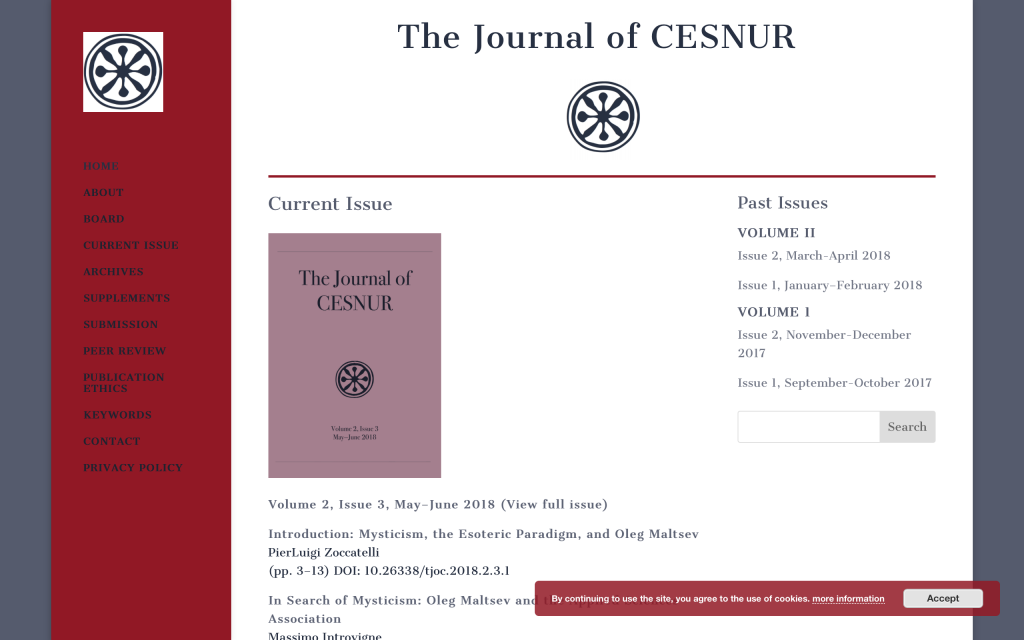 The Journal of Cesnur